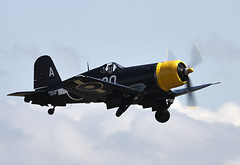 Corsair (Bernie Condon) Tags: vintage fighter military navy ww2 corsair preserved warplane rn royalnavy f4u vought bpmber