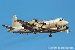 VQ-1 EP-3 Aires (mvonraesfeld) Tags: red plane flag aircraft aviation military navy lockheed usaf usn 161 aries ep3 afb nellis ep3e img0021 157326