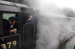 IMGP8419 (Steve Guess) Tags: uk england train engine loco hampshire steam gb locomotive alton lms 460 ropley alresford hants fourmarks medstead black5 45379
