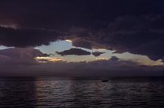 Be careful fisherman. Storm is coming... (theseustroizinian) Tags: sunset sea sky seascape storm beach clouds canon landscape seaside hellas greece loutraki seasunandclouds canoneos700d simplysuperb