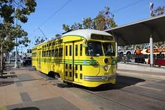 1948 St. Louis Car Co. #1057 (busdude) Tags: street car st louis san francisco cincinnati railway muni co septa streetcar municipal pcc morrisonknudsen muniheritage