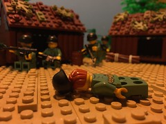 """Welcome to Vietnam boys"" (cebtrek) Tags: lego vietnam"
