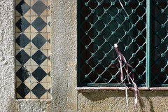 (Mi Mitrika) Tags: porto pretoebranco azulejos quadrados