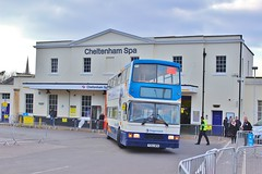 Stagecoach South 16262 P262WPN - Cheltenham Spa (South West Transport News) Tags: bus wednesday march d south shuttle alexander dennis races 16th spa cheltenham stagecoach scania trident 2016 16262 alx400 enviro400 e40d n230ud p262wpn
