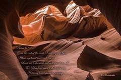 Psalm 61 in Antelope Canyon (TAC.Photography) Tags: red arizona stone mar psalms scripture antelopecanyon pageaz psalm61