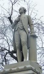 I Saw Hamilton (caboose_rodeo) Tags: 8129 sculpture statue centralpark commemorativesculpture