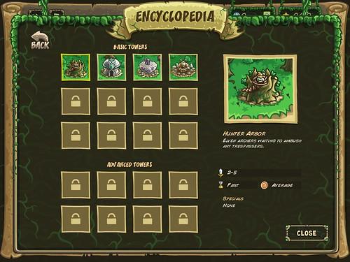 Kingdom Rush Origins Upgrades: screenshots, UI