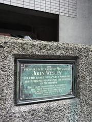 Methodism's birth place. (Hel*n) Tags: uk england london unitedkingdom methodism johnwesley 2014 methodismus felthisheartstrangelywarmed