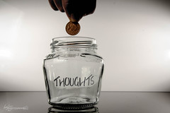 10/52 - A Penny For Your Thoughts (Forty-9) Tags: glass canon studio march coins flash thoughts penny jar week10 thursday efs1785mmf456isusm 52 lightroom playonwords 1052 2016 apennyforyourthoughts strobist efslens strobism project52 yongnuo eos60d rookietom yongnuospeedliteyn560iv tomoskay speedliteyn560iv 522016 project522016 10032016 10thmarch2016