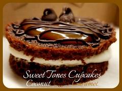 Coconut-Coffee-Caramel Whoopie Pie-Sweettonescupcakes (Sweet Tones Cupcakes) Tags: coffee coconut chocolate gourmet caramel stc whoopiepies gourmetcupcakes sweettonescupcakes sweettonescc cupcakology coconutcoffeecaramelwhoopiepies