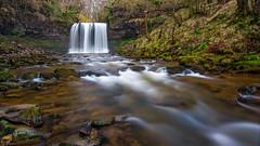 Sgwd-yr-Eira on the River Mellte (kayak4bigbass) Tags: fall water river t waterfall nikon tokina ii pro yr eira 1120 sgwd giga giottos