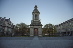 TCD Tower (seamusruizearle) Tags: county ireland dublin irish college trinitycollege trinity select kildare countykildare