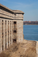 Fort Wadsworth (Erin Cadigan Photography) Tags: city nyc newyorkcity urban ny newyork building history stone architecture brooklyn river concrete outdoors harbor war fort military structure historic hudson statenisland fortress protect fortwadsworth batteryweed