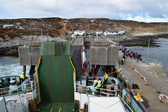 MV Clansman at the pier in Coll (Russardo) Tags: ferry scotland pier mac cal calmac mv coll caledonian macbrayne clansman