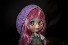 Rose haired girl