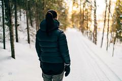 Linnéa (DrowsyPotato) Tags: winter woman girl field female zeiss 35mm vinter sweden bokeh snowy sony frosty swedish carl alpha scandinavia depth swe bokehlicious bokehful a7rii