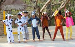 Dancing Kinu (Nagarjun) Tags: school play bangalore amphitheatre kanishka kinu kanakpuraroad thevalleyschool