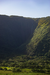 Hi'ilawe Waterfall (Hawaii Travel Photos) Tags: hawaii waterfall valley bigisland waipio hamakua hiilawe