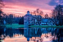 Rosendael Castle (Jaap Mechielsen) Tags: castle architecture europa europe arnhem nederland thenetherlands bluehour nl kasteel gelderland rozendaal kasteelrosendael