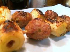 Chicken skewers #2 from Hosaka @ Shinbashi (Fuyuhiko) Tags: from chicken tokyo  skewers shinbashi      hosaka