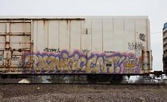 Radnificent (quiet-silence) Tags: railroad art train graffiti railcar radical boxcar graff freight sbt insulated dth fr8 cryx cryotrans radnificent cryx3526