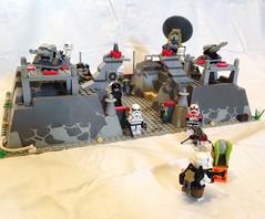 Lego Star Wars Moc: Imperial Bunker (oli.jger) Tags: starwars lego bunker stormtrooper imperial base moc sandtrooper shocktrooper