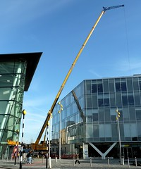 20160314 Blackpool Ainscough Crane (blackpoolbeach) Tags: mobile office crane council block sainsburys jib blackpool ainscough bickerstaffe