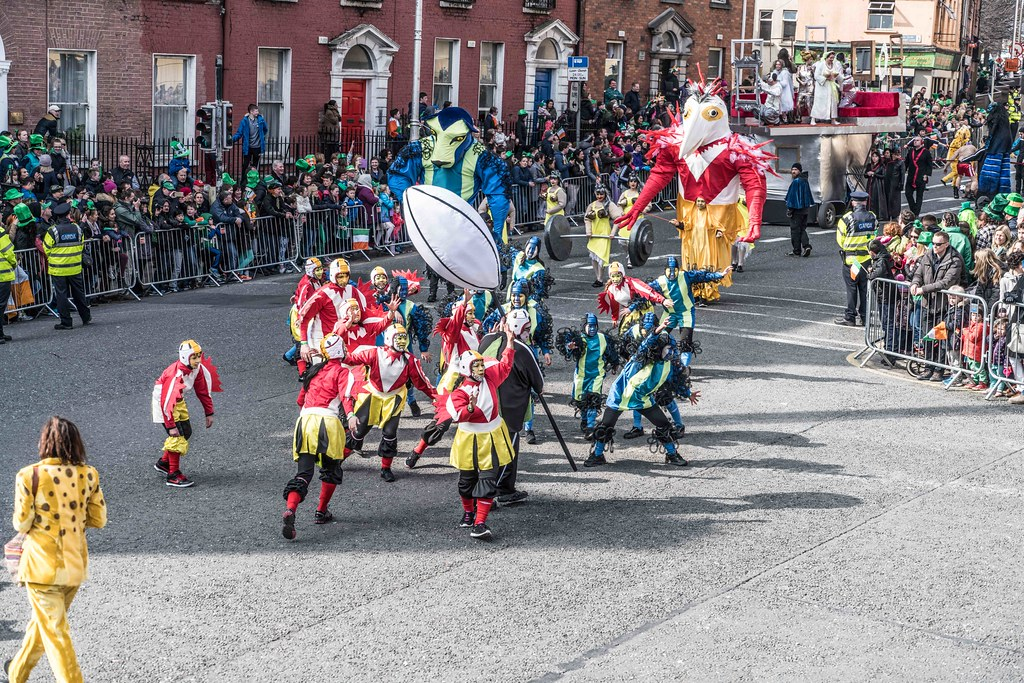 GAME ON BY CITY FUSION [DUBLIN 2016 PATRICK'S DAY PARADE]-112570