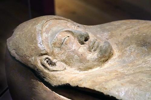 Sarcophage phénicien (Musée national d'archéologie, La Valette, Malte)