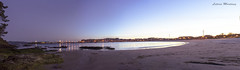 Panorama_Playa de Baltar (leticiamartinezdeza) Tags: playa baltar portonovo