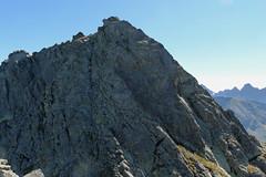 Na Orlej Perci, podejście na Kozi Wierch