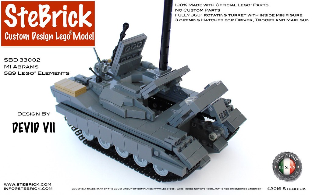 lego technic siege tank instructions