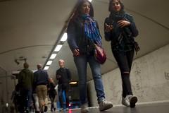 (nypan_sthlm) Tags: street people train subway stockholm sl uncrop gatufoto nypan trainstadione