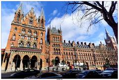 St Pancras Station International (vazyvite) Tags: london station saint st europe gare britain great international londres angleterre british pancras