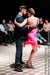 Nadia Johnson y Sebastian Jimenez, Patio de Tango, Brussels, March 2016