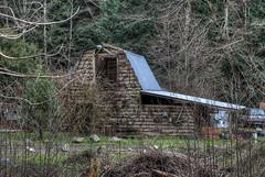 Barn - Sooke, Vancouver Island, British Columbia, Canada (Toad Hollow Photography) Tags: wood old canada beautiful barn rural bc britishcolumbia farm vancouverisland weathered hdr sooke bucolic