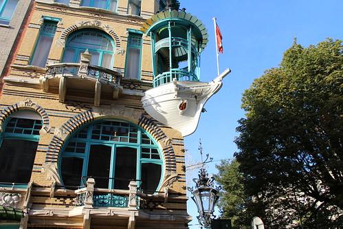 Antwerpen - Huis De Vijf Werelddelen