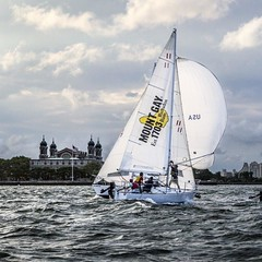 """#JerseyCity learn to sail with @manhattansailingschool Use our SPECIAL DISCOUNT code """"JC2016"""" to get 125 off Basic Sailing Course (expires May 15) boats leave off Liberty Harbor in JC #atasteforadventure #jcmakeityours #jcscoop #jcismycity (bucketandbay) Tags: jerseycity gelato bucketandbay"""