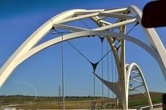 Puente Abbs Ibn Firns de Crdoba (Emilio J. Rodrguez-Posada) Tags: viaje espaa de puente carretera coche crdoba ibn 2016 firns abbs