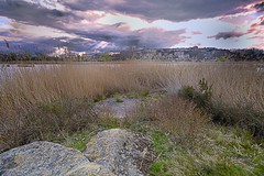 Lagunas_Laguardia (roli_photos) Tags: agua nikon pueblo laguardia laguna anochecer nuves d600 caizal alaba