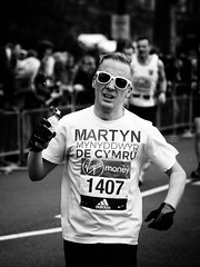 Pain Barrier (Feldore) Tags: england london water sunglasses pain marathon running olympus panasonic end barrier runner mchugh em1 35100mm feldore