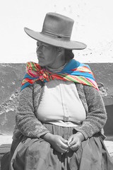 Colored shoulders (Bahanick (Nxt Up: Cuzco, Per)) Tags: park camera original light white black art alpaca nature colors up look machu inca cuzco composition contrast train work trek dark de for site reflex amazon rainforest raw foto with arte bright image lima good c poor picture shapes dirty per pichu trail national saturation su lama visual manu emotions per curiosity colori con luce madre disease outskirts dios forme archeological sensation riflesso composizione ande scuro sensazioni immagine emozioni chiaro tonality visivo