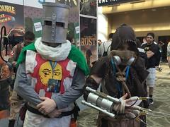 Monty Python Knight & Scarecrow