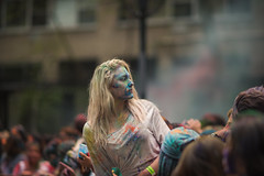 HoliHaiNYC-89 (M B Ahmed) Tags: new nyc newyorkcity colors festival portraits manhattan streetphotography depthoffield holi streetportraits festivalofcolors nycbhangra holihainyc