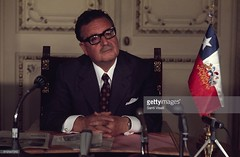 Salvador Allende  June 10, 1971 in Santiago, Chile. (Homage to Leopoldo Vctor Vargas) Tags: 911 september11 allende pinochet coupdetatchile1973
