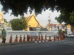 Monks in the Morning (kcosgrove) Tags: mai chiang