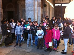 """19.03.2016 Le famiglie di 4 elem. in pellegrinaggio alla Porta Santa di S.Ambrogio con festa finale dei papà • <a style=""""font-size:0.8em;"""" href=""""http://www.flickr.com/photos/82334474@N06/26230338190/"""" target=""""_blank"""">View on Flickr</a>"""