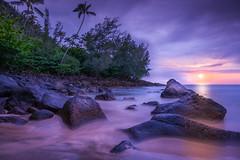 DSC01364 (NFRs2000NYC) Tags: sunset beach water beautiful hawaii high sony calm kauai resolution epic aloha kee mahalo a7r2