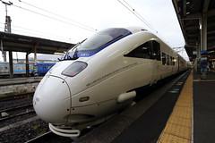 New style (Teruhide Tomori) Tags: railroad japan train traffic platform railway jr vehicle 日本 express 電車 japon nagasaki kyusyu 九州 kamome かもめ 列車 長崎県 長崎駅 885系 nagasakistation 特急かもめ