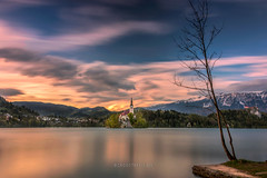 Bled-2010416-4 (Croosterpix) Tags: longexposure sunset lake landscape explore bled nikkor explored nikond610
